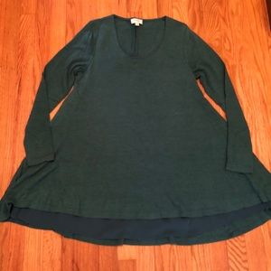 Tops - Long sleeve loose fit tunic